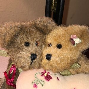 Boyds Bears Other - Boyd's Bear Happy Anniversary Two Bears/Heart